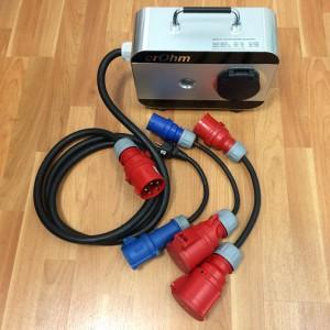 crOhm-Box mit Adaptern für einfach alles