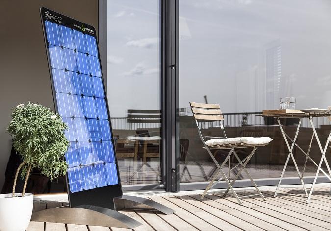 Strom von der eigenen Terrasse mit simon (Foto: oekostrom AG)