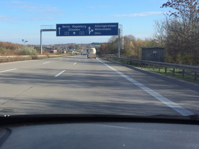 Unterwegs auf der A2