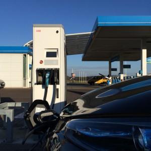Letzte Tankstelle vor der Stadtgrenze